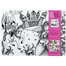 Napperon à colorier Funny Mat® princesse