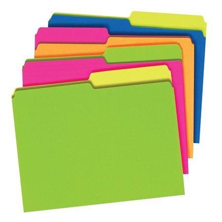 Twisted Glow File Folders