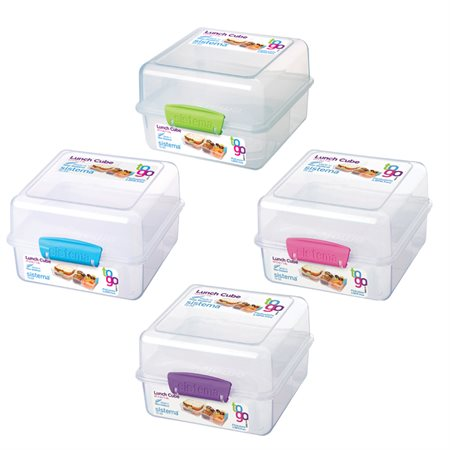 Contenant à nourriture Sistema® Lunch Cube To Go™