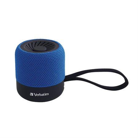 Mini haut-parleur sans fil et Bluetooth® bleu
