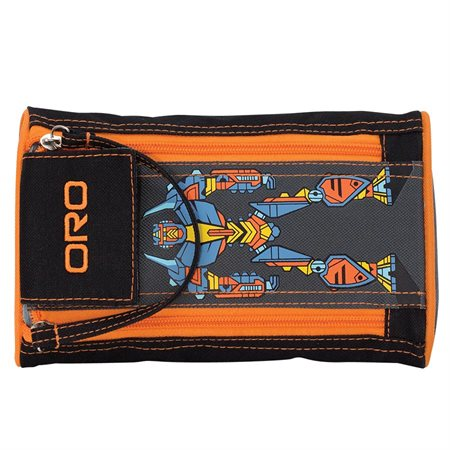 Robot 2 Zipper Pencil Case