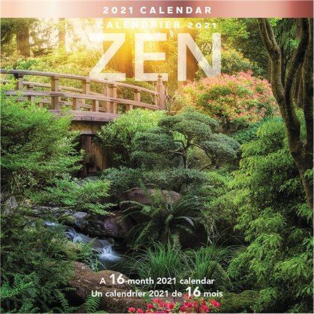 Calendrier mural Zen (2021)