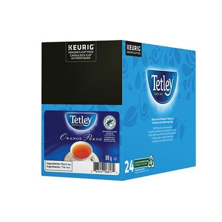 Thé en dosettes Tetley® orange pekoe
