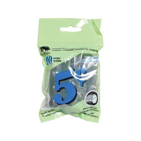 Rouleau pour monnaie Plastichange 5 ¢