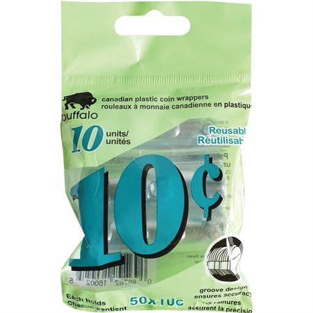 Rouleau pour monnaie 10 ¢