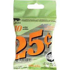 Rouleau pour monnaie 25 ¢