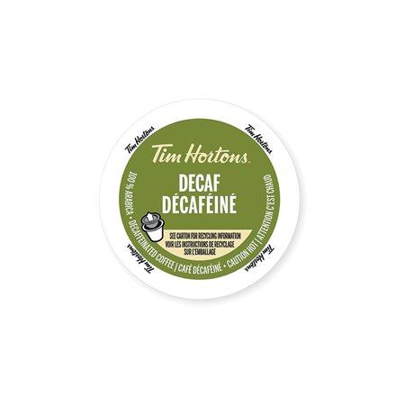 Boissons chaudes Tim Hortons® Café décaféiné (24)