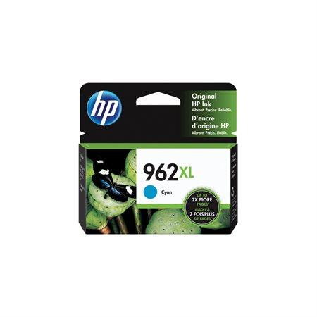 Cartouche d'encre à haut rendement HP 962 XL cyan
