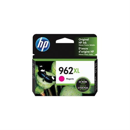 Cartouche d'encre à haut rendement HP 962 XL magenta