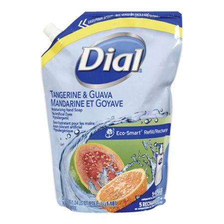 Savon liquide hydratant pour les mains Recharge de 1,81 l mandarine / goyave