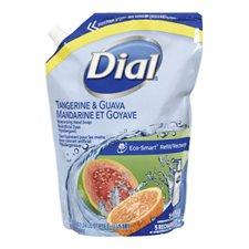 Savon liquide hydratant pour les mains Recharge de 1,81 l mandarine/goyave