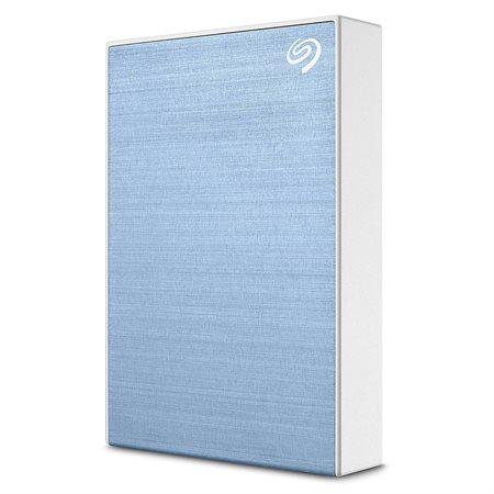 Disque dur externe portatif Backup Plus 5 To bleu