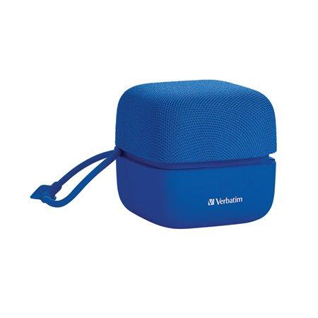 Haut-parleur Bluetooth Cube bleu