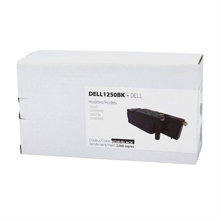 Cartouche de toner compatible Dell 125X noir
