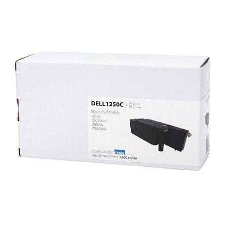 Cartouche de toner compatible Dell 125X cyan
