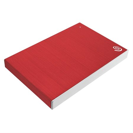 Disque dur portatif Backup Plus Slim 4 To rouge