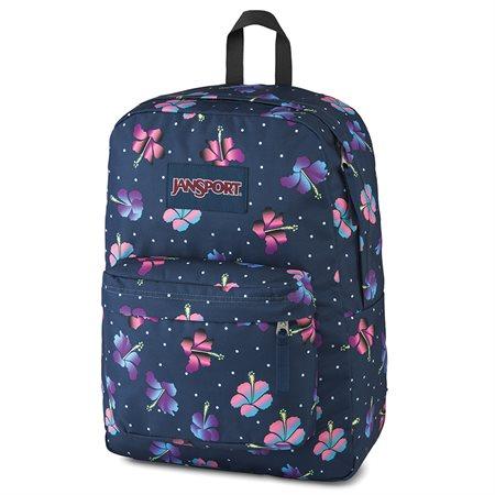 Sac à dos SuperBreak fleurs d'hibiscus dégradées