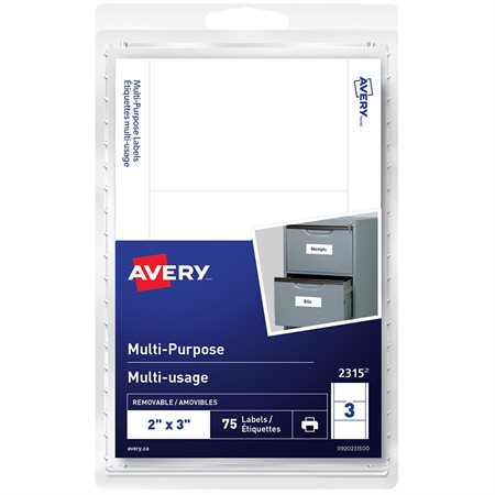 Self-Adhesive Multi-Purpose Labels