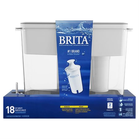 Système de filtration Brita® 18 tasses de 240 ml (8 oz)