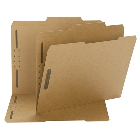Pressboard File Folders with Fasteners