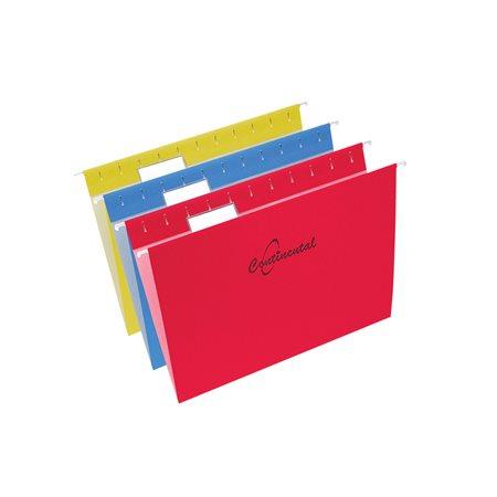 Dossiers suspendus Format lettre couleurs variées