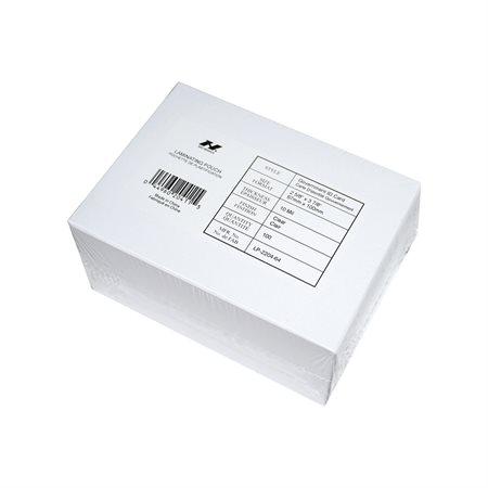 Pochettes de plastification pour cartes