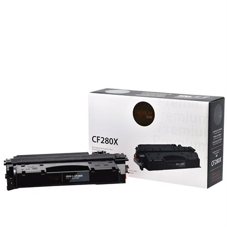 Compatible Toner Cartridge (Alternative to HP CF280X  /  80X)