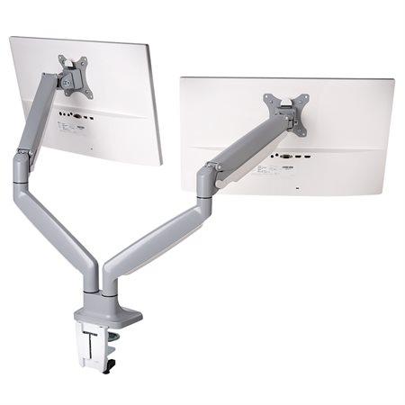 Bras de moniteur réglable en hauteur SmartFit® à une touche Bras double