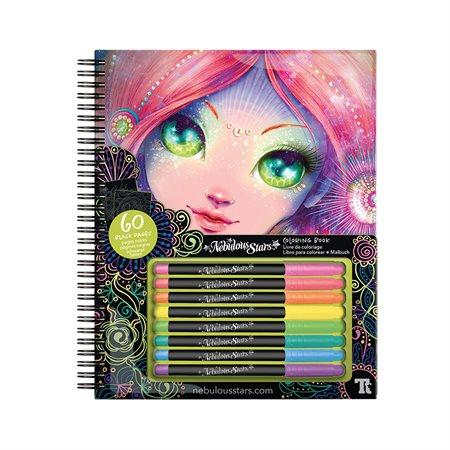 Nebulous Stars Colouring Book