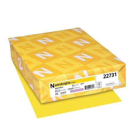 Papier de couleur Astrobrights® jaune solaire