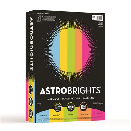 Astrobrights® Coloured Cardstock