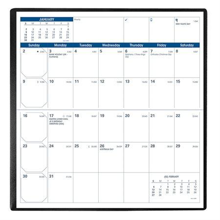 Visoplan Monthly Pocket Diary (2021)