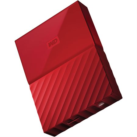 Disque dur externe My Passport 4 To rouge