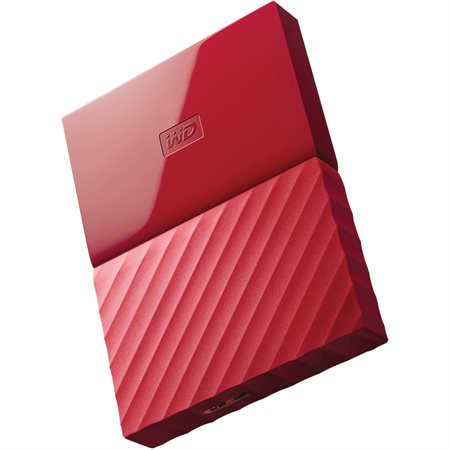 Disque dur externe My Passport 3 To rouge