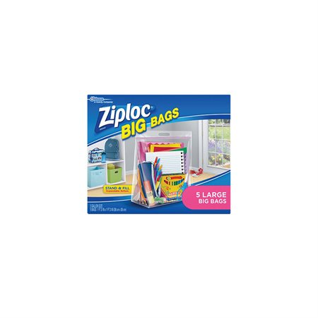 Ziploc® Big bags with Double Zipper