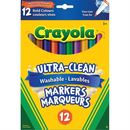 Ultra-Clean Washable Markers