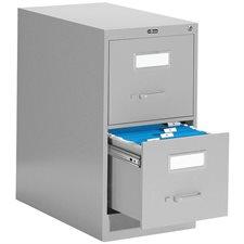 Classeur vertical format légal Fileworks® 2600 2 tiroirs. 29 po. H. gris