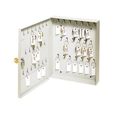 """Armoire à clés Pour 40 clés. 8-1/2 x 1-7/8 x 10-1/8""""H."""