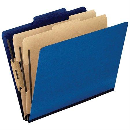 Chemise de classement Pressguard® Format légal bleu