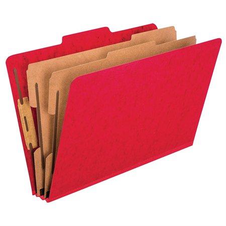 Chemise de classement Pressguard® Format légal rouge