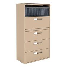 Classeurs latéraux Fileworks® 9300 5 tiroirs nevada