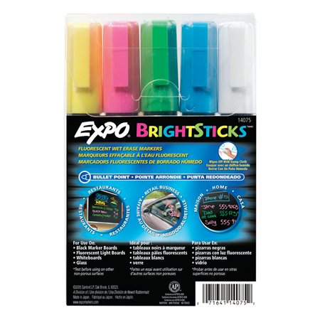 Expo® BrightSticks™ Wet Erase Marker