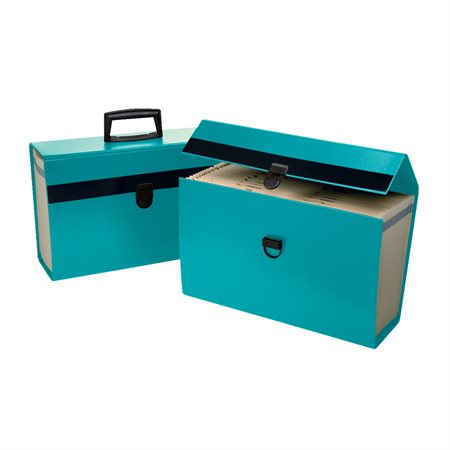 Classeur portatif Portafile® turquoise foncé
