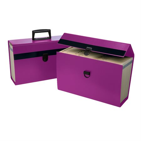 Classeur portatif Portafile® violet
