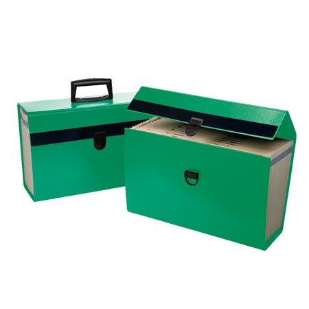 Classeur portatif Portafile® vert