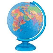 Globe terrestre Adventurer anglais