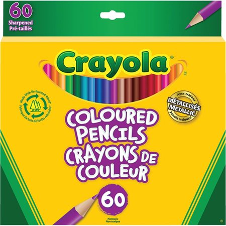 Crayola® Wood  Colouring Pencils