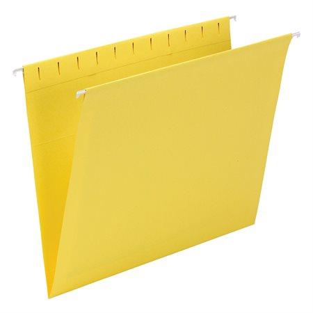 Dossiers suspendus Format lettre jaune