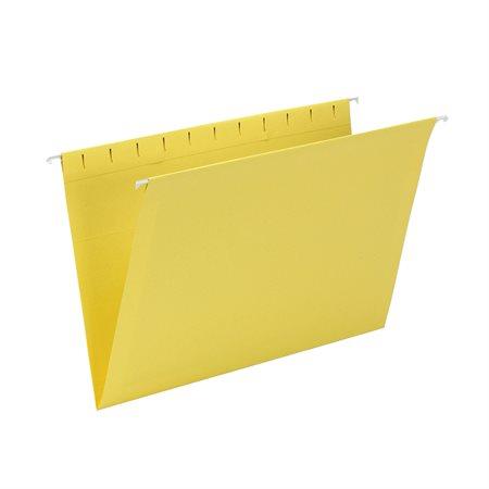 Dossiers suspendus Format légal jaune