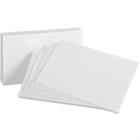 Fiches blanches Unies 5 x 3""